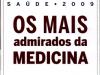 Os mais admirados da medicia 2009